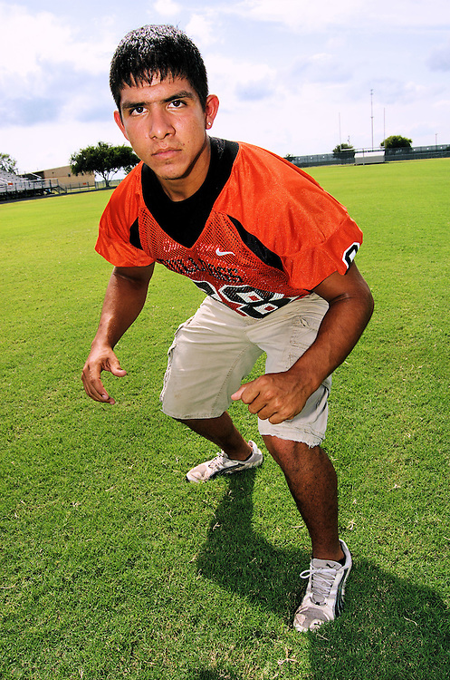 High school football player from Orange Grove, Texas.
