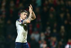 Jordan Hugill of Preston North End applauds the fans - Mandatory by-line: Matt McNulty/JMP - 07/01/2017 - FOOTBALL - Deepdale - Preston, England - Preston North End v Arsenal - Emirates FA Cup third round