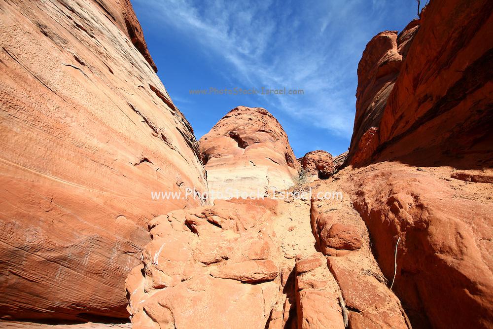 Antelope Canyon, Arizona, USA, eroded Sandstone Rock Formations
