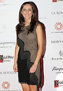 27/9/14***NO REPRO FEE*** Pictured is Michelle Curtin as Dublin's ladies turn out for a fashionable Cocktail Evening in aid of the Caroline Foundation Pic: Marc O'Sullivan  Friday 26th September: Last night saw a slice of high-end NY style hit Dublin, arriving at The Four Seasons.  Stylish ladies turned out in force to support the event and to mark the start of Breast Cancer Awareness month. The fundraiser, which was a sell-out was the brainchild of Paula McClean a breast cancer survivor and tireless fundraiser. Combining her love of fashion and a good party, the first Cocktail Club Event was born. With a great night of style, fun and raising a lot of money for cancer research, it is no wonder it was a sell- out.  The lucky ladies were treated to a special fashion Show by Brown Thomas who show cased their designers in a salon style. The show featured a selection of key looks mirroring trends from the international runways. The mood for AW14 is easy, elegant, casual and chic. New labels to love include Jenny Packham, Valentino, Osman, Brunello Cucinelli and Moschino. Curated by the affable Michelle Curtain, the clothes were a show-stopper. In keeping with the era of the collection, the evening had a distinctive New York retro theme. Signature 'Original' cocktails from The Four Seasons, featuring Tanqueray London Dry Gin and Ketel-One with the trademark Copper Kettle serve, were the order of the day with eclectic tunes from club DJ Dom to keep the party going. All the lucky ladies went home with a luxury La Bougie Candle. The inaugural Cocktail Club in aid of the Caroline Foundation is the brainchild of Paula McClean a breast cancer survivor and tireless fundraiser. Commenting on the evening, 'Breast Cancer and the Caroline Foundation are very close to my heart and combining this with my love of fashion and a good party, we came up with the first Cocktail Club. We are looking forward to a great night of style, fun and raising a lot of money for cancer research.