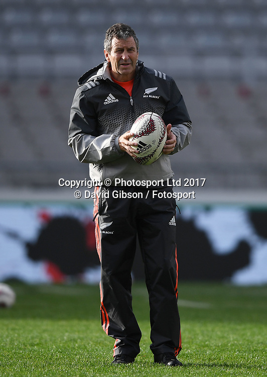 All Blacks assistant coach Wayne Smith.<br /> New Zealand All Blacks captain's run, Eden Park, Auckland  New Zealand, Friday 23rd June 2017 <br /> Copyright photo: Fotosport / David Gibson / www.photosport.nz