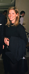 COUNTESS EDMONDO DI ROBILANT at a party in London on 21st April 1999.<br /> MRG 22 WO