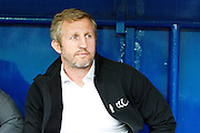 Widnes Head Coach Denis Betts during the Super 8s Round 2 match between Widnes Vikings and Hull FC at the Select Security Stadium, Halton, United Kingdom on 11 August 2016. Photo by Craig Galloway.