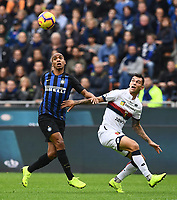 Joao Mario-Pedro Pereira<br /> Milano 03-11-2018 Stadio San Siro Football Calcio Serie A 2018/2019 FC Internazionale - Genoa Foto Matteo Gribaudi / Image Sport / Insidefoto