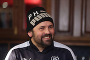 Dundee manager Paul Hartley speaks to the press ahead of the visit of Inverness Caledonian Thistle to Dens  - Dundee FC Presser<br /> <br />  - &copy; David Young - www.davidyoungphoto.co.uk - email: davidyoungphoto@gmail.com