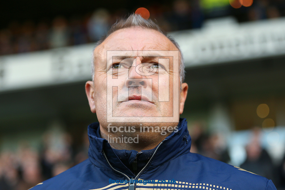 Manager of Leeds United, Neil Redfearn looks on during the Sky Bet Championship match against Ipswich Town at Portman Road, Ipswich<br /> Picture by Richard Calver/Focus Images Ltd +447792 981244<br /> 06/12/2014
