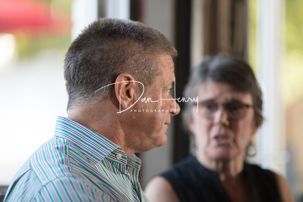 Drew Sterchi's retirement party on August 20, 2017 at Granfalloon in downtown Chattanooga, TN. Photo by Dan Henry / DanHenryPhotography.com