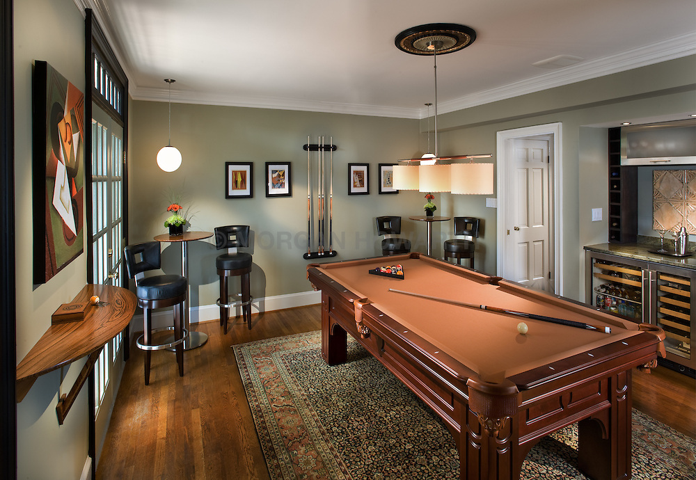 214 Lee Alexandria Virginia Pool Room by Designer Dolly Howarth