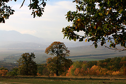 ROMANIA ZARNESTI 27OCT12 - Autumn landscape near the town of Zarnesti in the southern Carpathian mountains, Romania.....jre/Photo by Jiri Rezac..© Jiri Rezac 2012