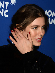 Charlotte Casiraghi attending the Montblanc Meisterstuck Le Petit Prince event at One World Trade Center Observatory on April 4, 2018 in New York City, NY, USA. Photo by Dennis Van Tine/ABACAPRESS.COM