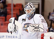 November 9, 2010: The Oklahoma City Barons play the San Antonio Rampage in an American Hockey League game at the Cox Convention Center in Oklahoma City.