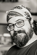Troy Harris, kock p&aring; Cascade Brewings krog The Barrel House i Portland, Oregon. <br /> Foto: Christina Sj&ouml;gren