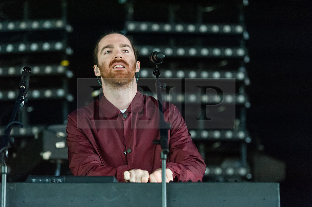 © Licensed to London News Pictures. 06/06/2015. London, UK.   Chet Faker performing live at Field Day Festival Saturday Day 1.   Chet Faker, real name Nicholas James Murphy is an Australian electronica musician.  Photo credit : Richard Isaac/LNP