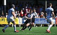 Pontypridd's Jordan Rees<br /> Pontypridd RFC v Cardiff RFC<br /> <br /> Photographer Mike Jones / Replay Images<br /> Sardis Road, Pontypridd.<br /> Wales - 5th May 2018.<br /> <br /> Pontypridd RFC v Cardiff RFC<br /> Principality Premiership<br /> <br /> World Copyright &copy; Replay Images . All rights reserved. info@replayimages.co.uk - http://replayimages.co.uk