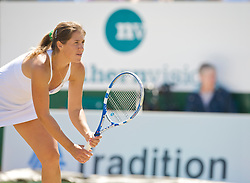 NOTTINGHAM, ENGLAND - Friday, June 12, 2009: Olga Savchuk (UKR) on day two of the Tradition Nottingham Masters tennis event at the Nottingham Tennis Centre. (Pic by David Rawcliffe/Propaganda)