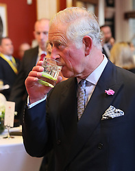 The Prince of Wales attends a dinner at Crawford Art Gallery as part of his tour of the Republic of Ireland with the Duchess of Cornwall. PRESS ASSOCIATION Photo. PRESS ASSOCIATION Photo. Picture date: Thursday June 14, 2018. See PA story ROYAL Charles. Photo credit should read: Brian Lawless/PA Wire