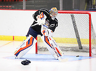 September 25, 2013: The Oklahoma City Barons hold day three of their 2013-14 American Hockey League training camp at the Cox Convention Center in Oklahoma City.