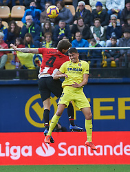 January 20, 2019 - Vila-Real, Castellon, Spain - Pablo Fornals of Villarreal and Inigo Martinez of Athletic Club de Bilbao during the La Liga Santander match between Villarreal and Athletic Club de Bilbao at La Ceramica Stadium on Jenuary 20, 2019 in Vila-real, Spain. (Credit Image: © AFP7 via ZUMA Wire)
