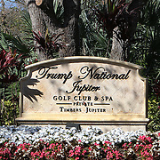 Trump National Golf Club and Spa in Jupiter. The club is 35 minute drive north of his winter White House Mar-a-Lago in Palm Beach.<br /> Photography by Jose More