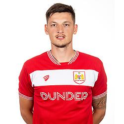 Milan Djuric of Bristol City - Ryan Hiscott/JMP - 26/07/2018 - FOOTBALL - Ashton Gate - Bristol, England - Bristol City Media Day