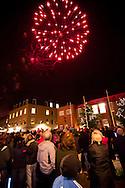 Wrexham Christmas lights switch on