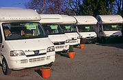 A08AW1 Selection of brand new motorhomes on sale in UK