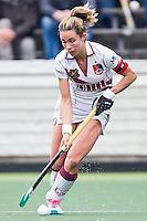 AMSTERDAM - Amsterdam - Den Bosch , Wagener Stadion , Hockey , Play-off hoofdklasse hockey , 03-05-2015 , Amsterdam speelster Ellen Hoog