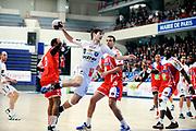 DESCRIZIONE : France Hand D1 Championnat de France D1 A Paris <br /> GIOCATORE : ARVIN-BEROD MAXIM<br /> SQUADRA : Montpellier<br /> EVENTO : FRANCE Hand D1<br /> GARA : Paris Montpellier<br /> DATA : 16/11/2011<br /> CATEGORIA : Hand D1 <br /> SPORT : Handball<br /> AUTORE : JF Molliere <br /> Galleria : France Hand 2011-2012 Action<br /> Fotonotizia : France Hand D1 Championnat de France D1 a Paris <br /> Predefinita :