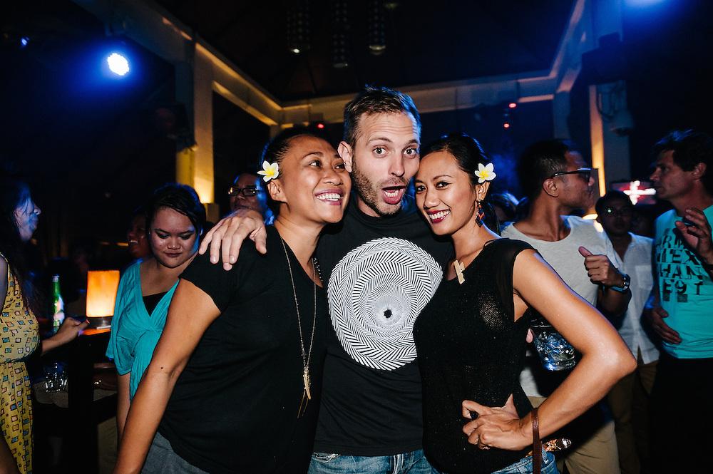 Misshapes at Hu'u Bar, Bali, Indonesia, 02/08/2013.