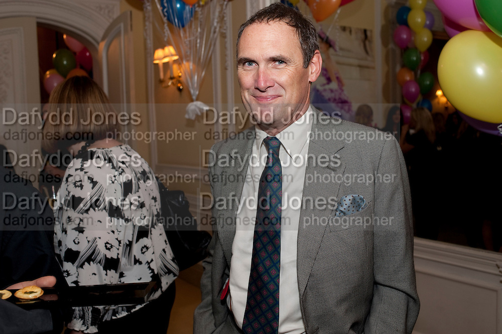A.A. GILL, Kate Reardon and Michael Roberts host a party to celebrate the launch of Vanity Fair on Couture. The Ballroom, Moet Hennessy, 13 Grosvenor Crescent. London. 27 October 2010. -DO NOT ARCHIVE-© Copyright Photograph by Dafydd Jones. 248 Clapham Rd. London SW9 0PZ. Tel 0207 820 0771. www.dafjones.com.