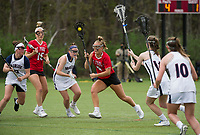 St Paul's School varsity Lacrosse with Brewster.  ©Karen Bobotas Photographer