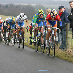 Marianne Vos, Kirsten Wild. Elizabeth Armistead on the Vamberg