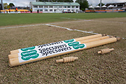 during the Specsavers County Champ Div 2 match between Leicestershire County Cricket Club and Derbyshire County Cricket Club at the Fischer County Ground, Grace Road, Leicester, United Kingdom on 28 May 2019.