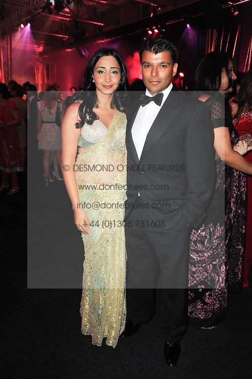RAJ &amp; PRIYANKA GILL at ARTiculate, Pratham UK Fundraising Gala held at The Old Billingsgate Market, City Of London on  11th September 2010 *** Local Caption *** Image free to use for 1 year from image capture date as long as image is used in context with story the image was taken.  If in doubt contact us - info@donfeatures.com<br /> RAJ &amp; PRIYANKA GILL at ARTiculate, Pratham UK Fundraising Gala held at The Old Billingsgate Market, City Of London on  11th September 2010