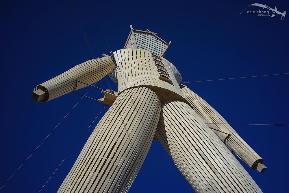 The Man, Burning Man 2014.