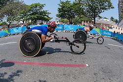 WAHORAM Prawat, THA, T52/53/54 Marathon, PIKE Aaron, USA at Rio 2016 Paralympic Games, Brazil