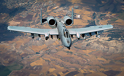 May 31, 2017 - Undisclosed, Syria - U.S. Air Force A-10 Thunderbolt II ground support fighter aircraft during a mission in support of Operation Inherent Resolve May 31, 2017 in southwest Asia. (Credit Image: © Michael Battles/Planet Pix via ZUMA Wire)