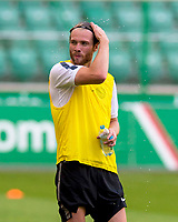29/07/14<br /> CELTIC TRAINING<br /> PEPSI ARENA - WARSAW<br /> Loan signing Jo Inge Berget trains in Warsaw after joining Celtic from Cardiff City