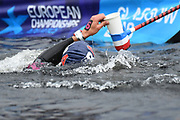 Axel Reymond (FRA) competes on Men's 25 kms Open Water final during the Swimming European Championships Glasgow 2018, at Tollcross International Swimming Centre, in Glasgow, Great Britain, Day 11, on August 12, 2018 - Photo Stephane Kempinaire / KMSP / ProSportsImages / DPPI