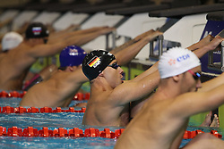 21.08.2014, Europa Sportpark, Berlin, GER, LEN, Schwimm EM 2014, Ruecken, im Bild <br /> Nicolas Graesser (Deutschland) (DSV) // during the LEN 2014 European Swimming Championships at the Europa Sportpark in Berlin, Germany on 2014/08/21. EXPA Pictures © 2014, PhotoCredit: EXPA/ Eibner-Pressefoto/ Lau<br /> <br /> *****ATTENTION - OUT of GER*****