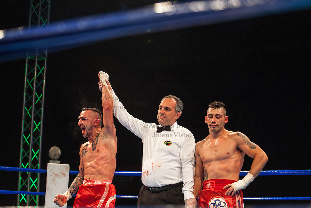 The match of the Italian Pro League saw Bentivegna take down Di Mari at the Antifa Fight Clib in Palermo. Giancarlo Bentivegna fights for Palestra Popolare (Gym Popular) Palermo.