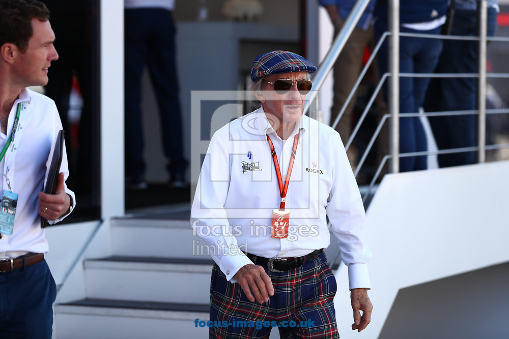 Jacky Stewart during the Italian Formula One Grand Prix at Monza National Race Track, Monza, Italy.<br /> Picture by EXPA Pictures/Focus Images Ltd 07814482222<br /> 03/09/2017<br /> *** UK & IRELAND ONLY ***<br /> <br /> EXPA-EIB-170903-0054.jpg