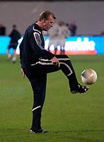 Photo: Richard Lane<br />England Training Session. 10/10/2006. <br />England Head Coach, Steve McClaren.