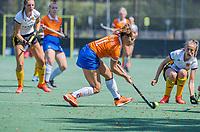 BLOEMENDAAL   -  Sterre Bregman (Bldaal) , oefenwedstrijd dames Bloemendaal-Victoria, te voorbereiding seizoen 2020-2021.   COPYRIGHT KOEN SUYK
