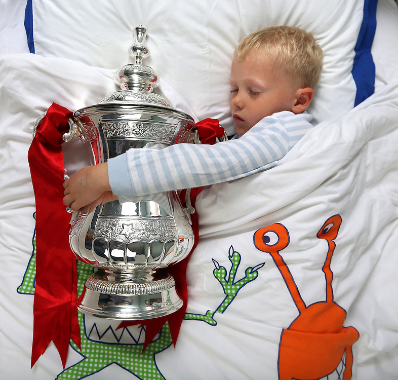Mischief-Sleeping with the FA Cup