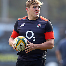 Jack Singleton (Worcester) of England during the England Rugby training session at  Jonsson Kings Park Stadium,Durban.South Africa. 19,06,2018 Photo by (Steve Haag JMP)