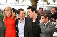 Nicole Kidman, Matthew Mcconaughey, John Cusack,  Zac Efron,  at The Paperboy photocall at the 65th Cannes Film Festival France. Thursday 24th May 2012 in Cannes Film Festival, France.
