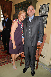 Bruce & Rosalind Milani Gallieni at The House of Britannia reception hosted by Lady Delves Broughton at 42 Berkeley Square, London on 26th June 2014.