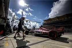 October 21, 2017 - Austin, United States of America - Motorsports: FIA Formula One World Championship 2017, Grand Prix of United States, .#11 Sergio Perez (MEX, Sahara Force India F1 Team) (Credit Image: © Hoch Zwei via ZUMA Wire)