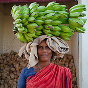 Portrait, Madurai Vegetable Market